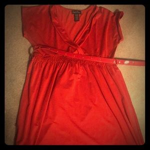 Susie Rose red dress